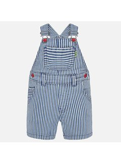 Mayoral 1686 stripes dungaree