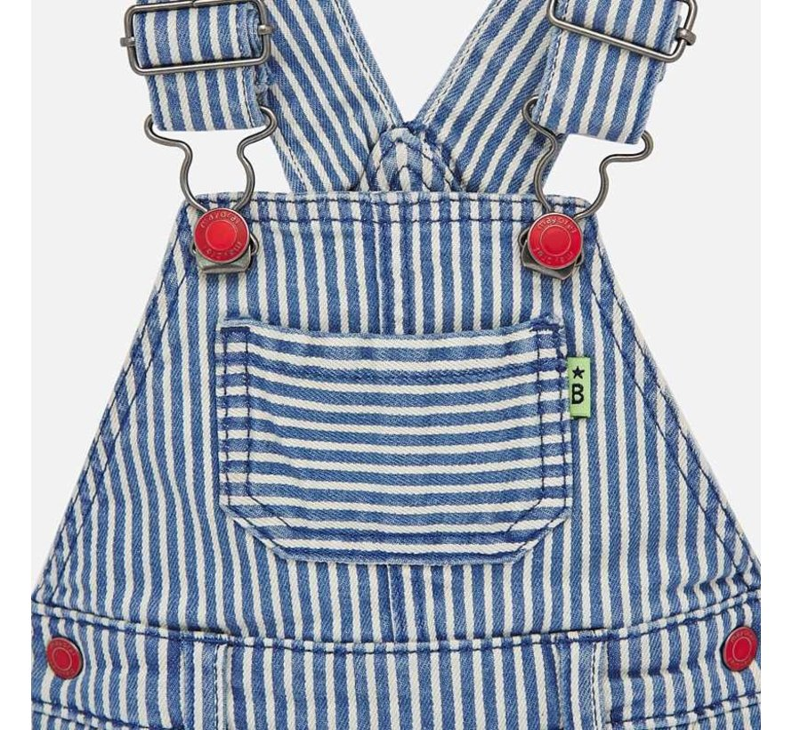 1686 stripes dungaree