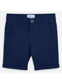 Mayoral 202 basic twill chino shorts