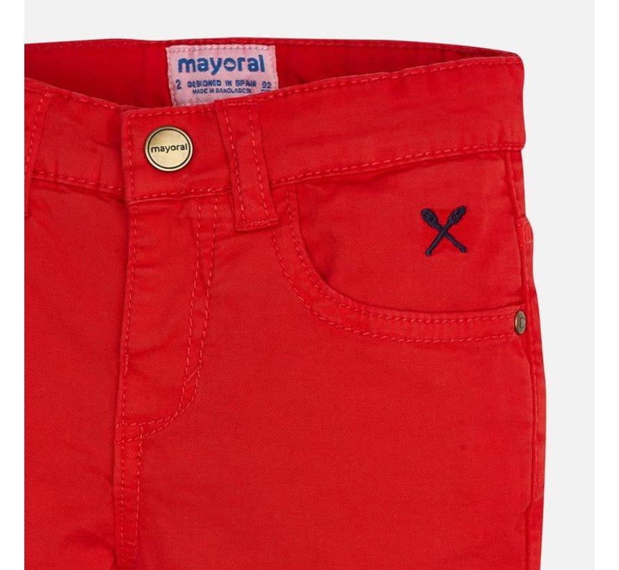 204 basic 5 pockets twill shorts