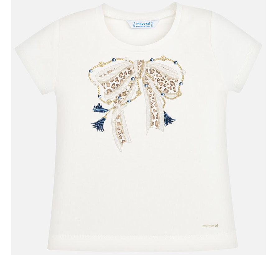 3007 S/s bow t-shirt