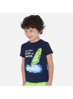 Mayoral 3068 s/s waves shirt