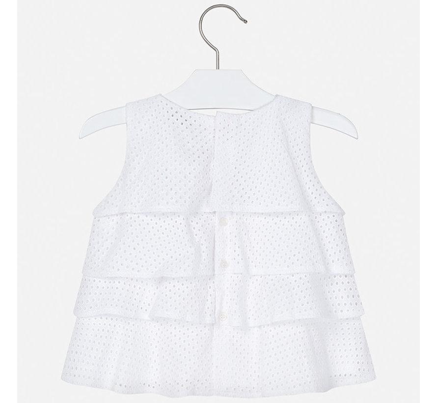 3183 ruffled blouse