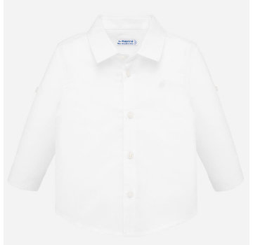 Mayoral 117 basic linen l/s shirt