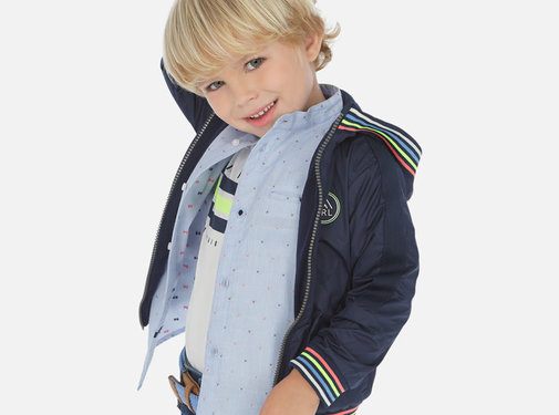 Mayoral 3455 windbreaker patents colors