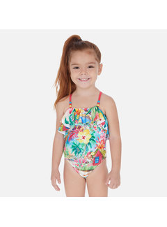 Mayoral 3730 printed swimsuit