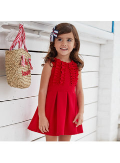 Mayoral 3942 knitted dress ottoman