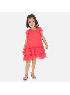 Mayoral 3957 ruffled dress