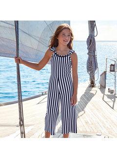 Mayoral 6808 stripes jumpsuit