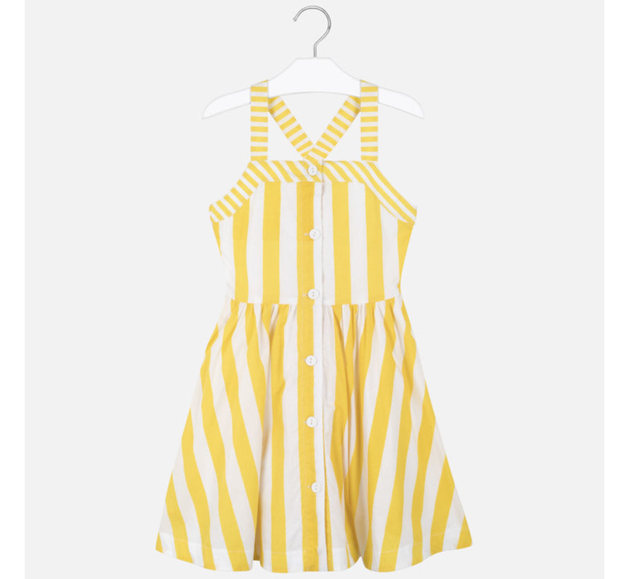 6979 stripes poplin dress