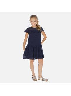 Mayoral 6976 plumeti dress