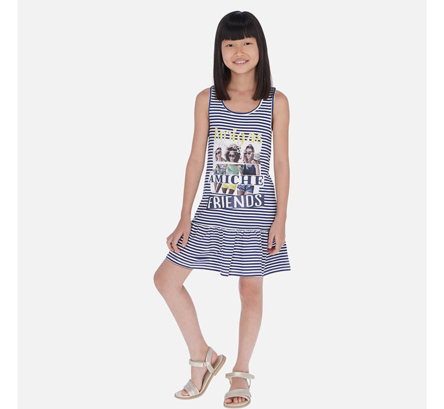 6987 striped dress