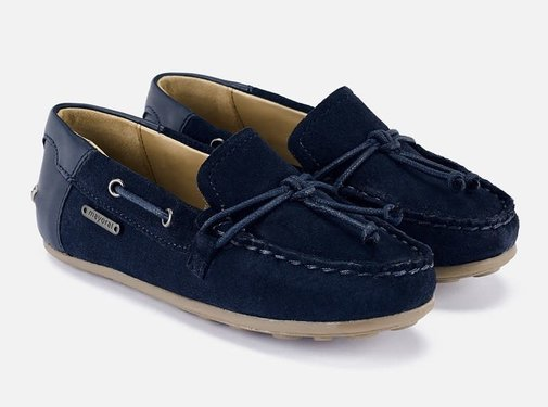 Mayoral 43178 leather moccasins