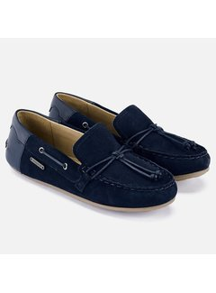 Mayoral 45178 leather moccasins