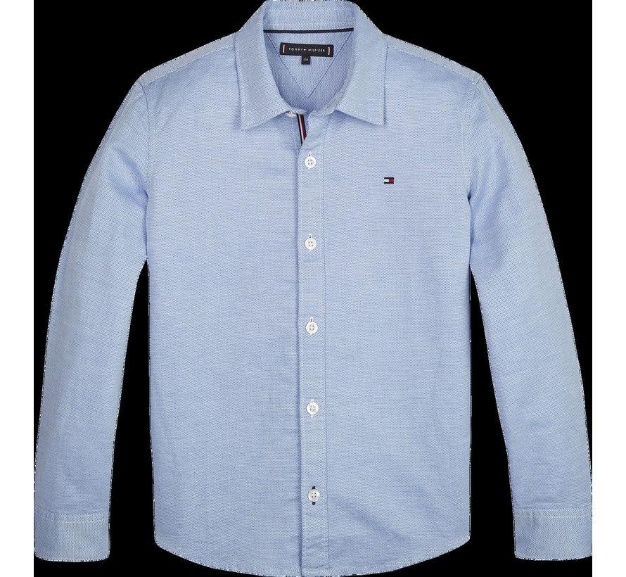 KB05697 Structured linen shirt l/s