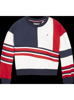 Tommy hilfiger pre KG04956 tommy 1985 colourblock crew