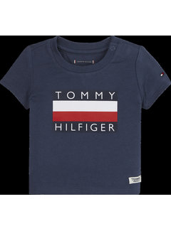 Tommy hilfiger pre KN01122 baby flag tee S/S