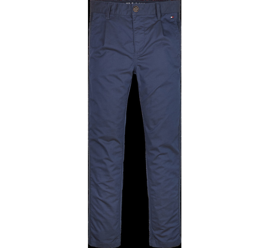 KB05594 th cool pleated chino tape pants