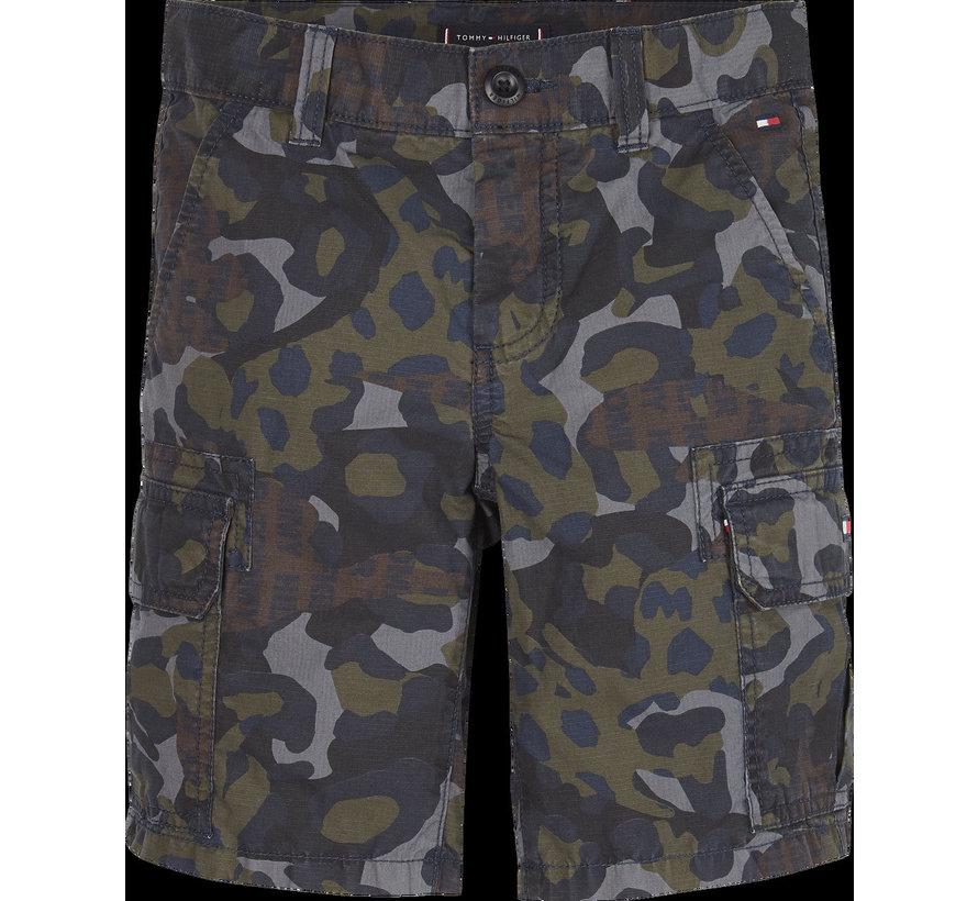 KB05601 camouflage cargo short