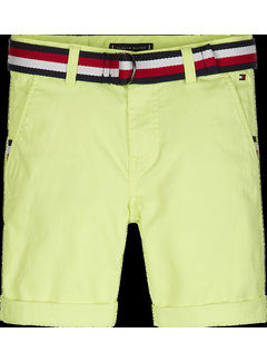 Tommy Hilfiger KB05603 essential belted chino shorts