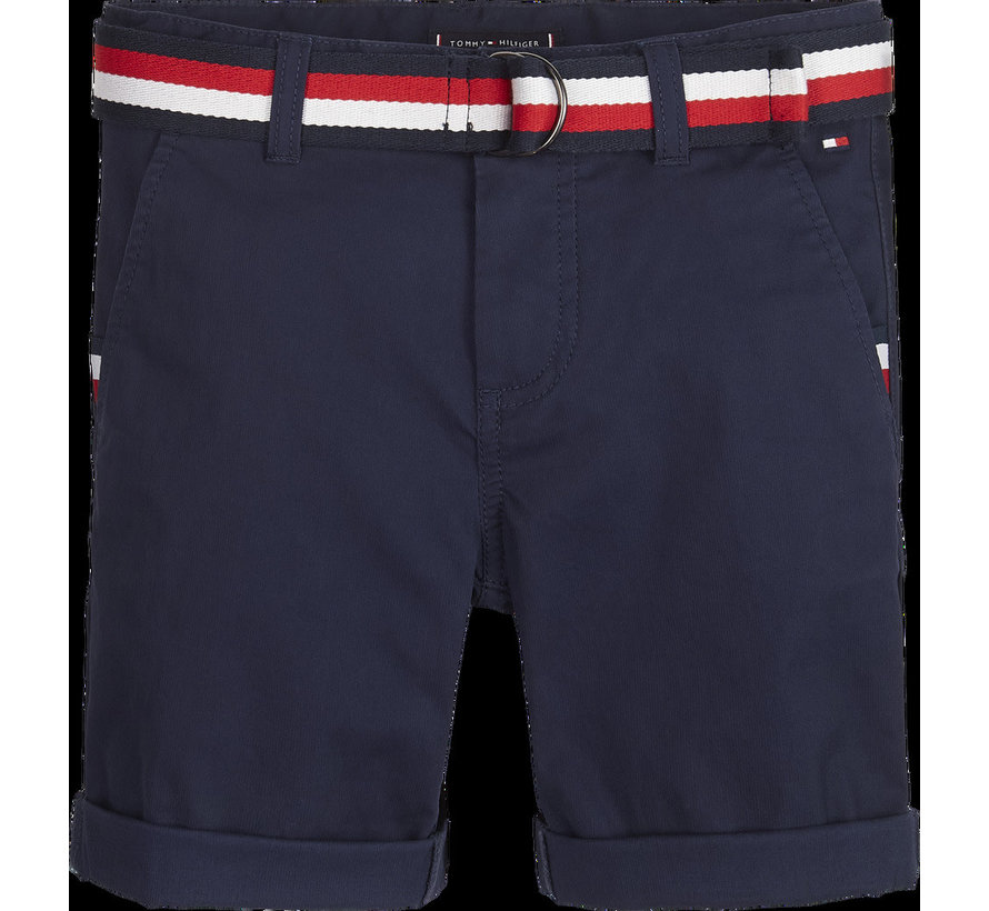 KB05603 essential belted chino shorts