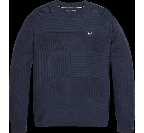 Tommy Hilfiger KB05612 Tommy flag sweater