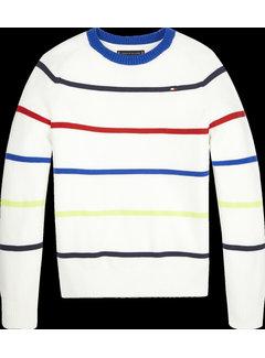 Tommy Hilfiger KB05617 Multi stripe sweater