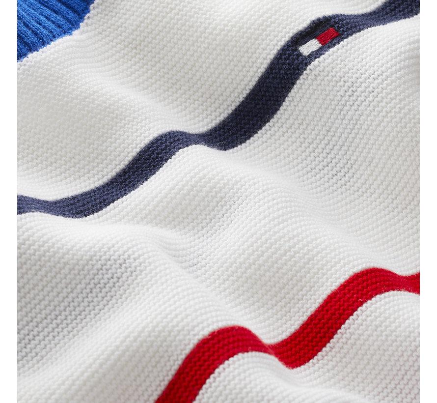 KB05617 Multi stripe sweater