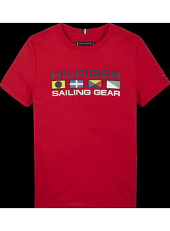 Tommy Hilfiger KB05631 Tommy flag sailing gear tee s/s