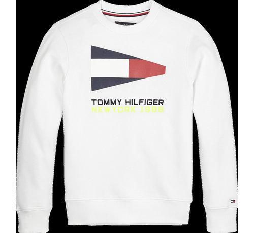 Tommy Hilfiger KB05650 Sailing flag grhaphic sweatshirt