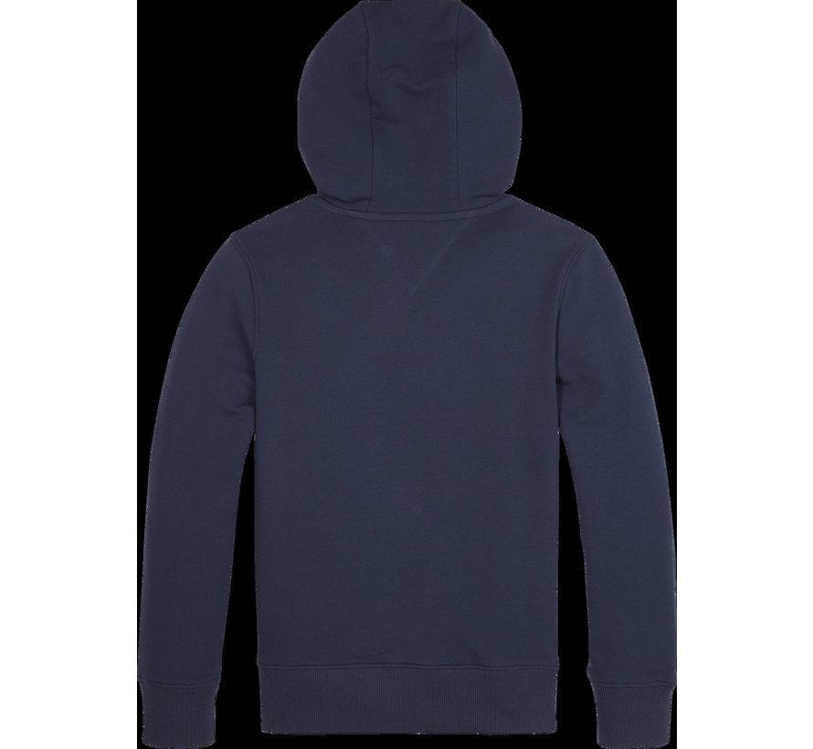 KB05652 Tape detail fullzip hoodie
