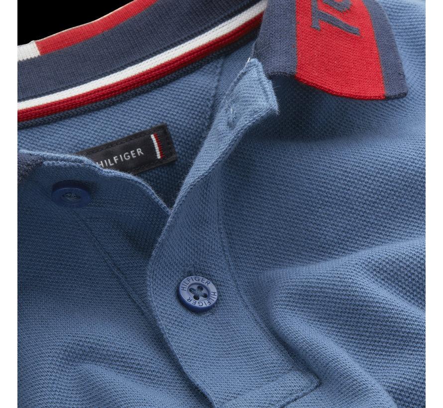 KB05658 Intarsia collar polo s/s