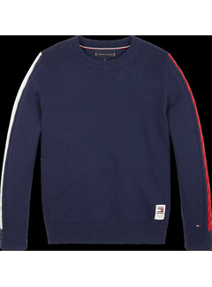 Tommy hilfiger pre KB05406 cable sleeve sweater