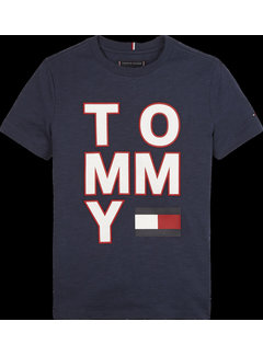 Tommy hilfiger pre KB05428 multi application aw tee S/S
