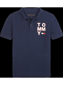 Tommy hilfiger pre KB05430 graphic F/B polo S/S