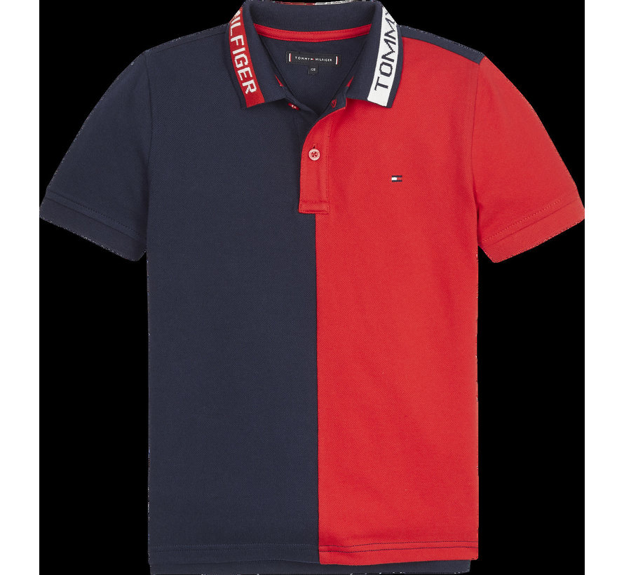 KB05432 colorblock polo S/S