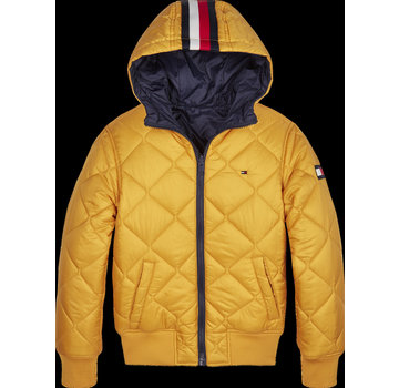 Tommy hilfiger pre KB05493 reversible quilted hooded bomber