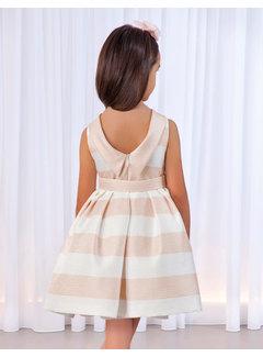 Abel & Lula 5012 knit stripes dress