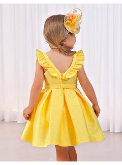 Abel & Lula 5040 jacquard dress