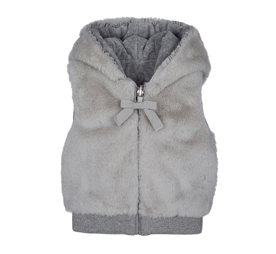 E1082 sleeveless jacket