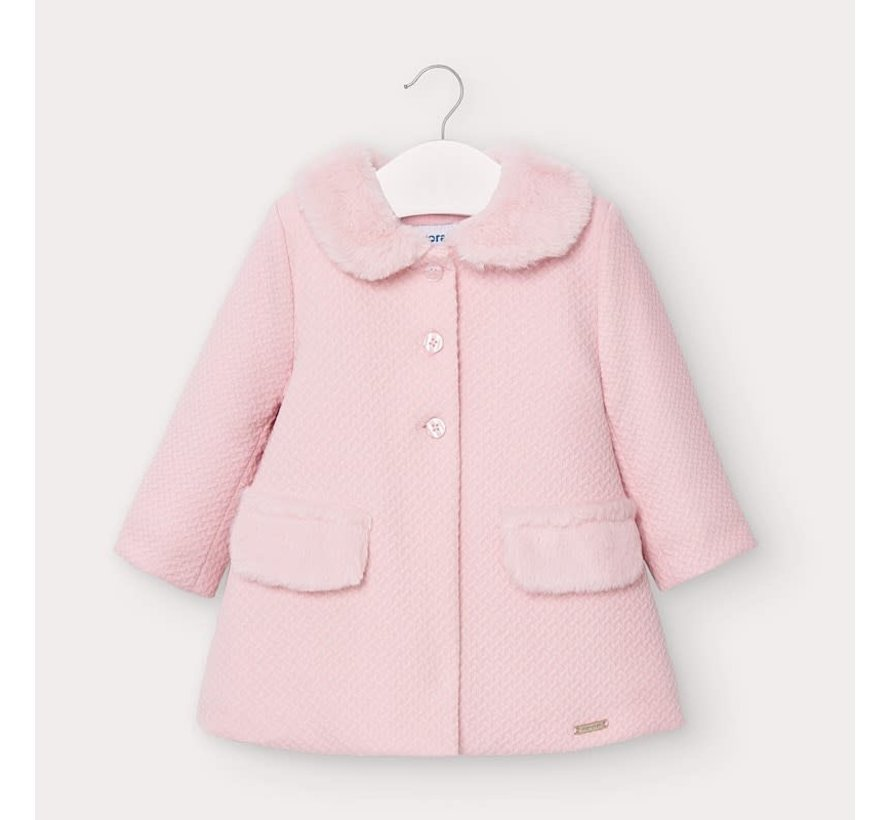 2407 structured knit coat