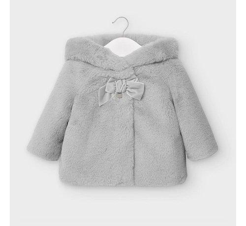 Mayoral 2408 fur coat