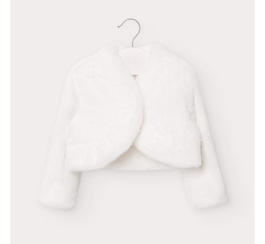 2403 furry cardigan