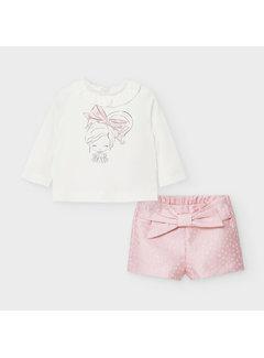 Mayoral 2219 shorts set