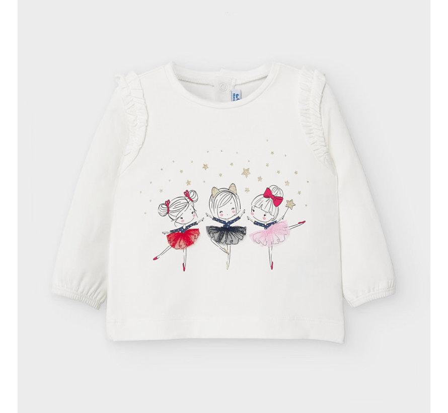2056 l/s printed t-shirt