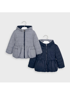 Mayoral 4414 reversible coat