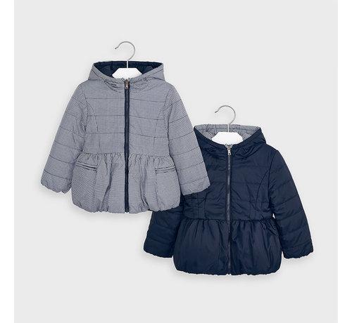 Mayoral 4414 reversible coat