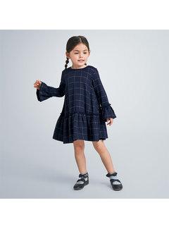 Mayoral 4973 plaid dress