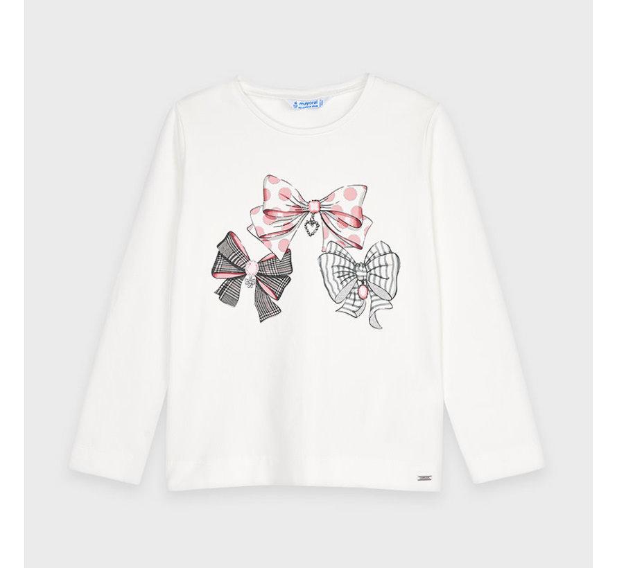 4068 l/s graphic t-shirt