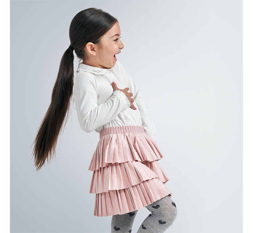 4958 pleated skirt